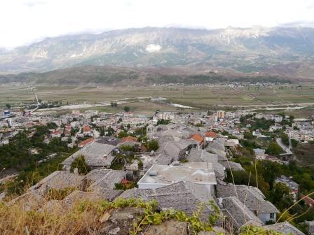 2013-09-17-nr175-AL-Gjirokaster-Blick von oben